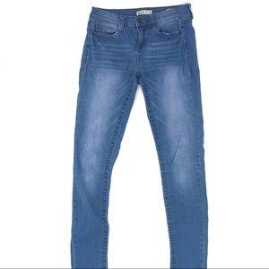 Mudd Light Wash FlxStretch Skinny Jeans Size 3